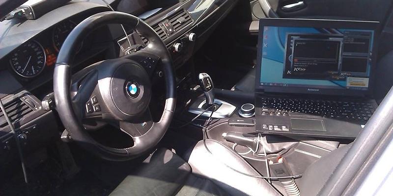 Диагностика и чип-тюнинг BMW 525xi E60
