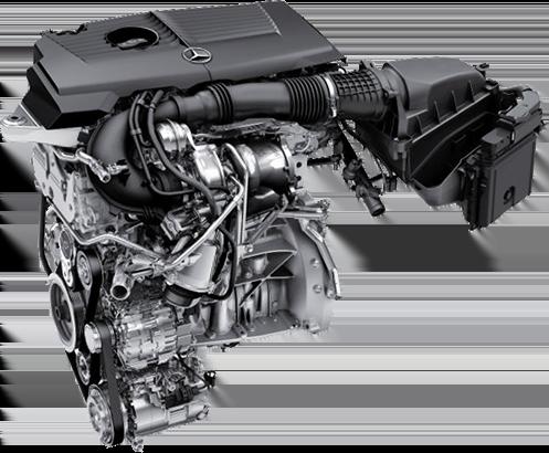 Турбированный двигатель Mercedes-Benz M270