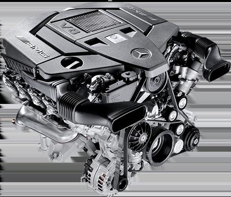 Атмосферный двигатель Mercedes M152